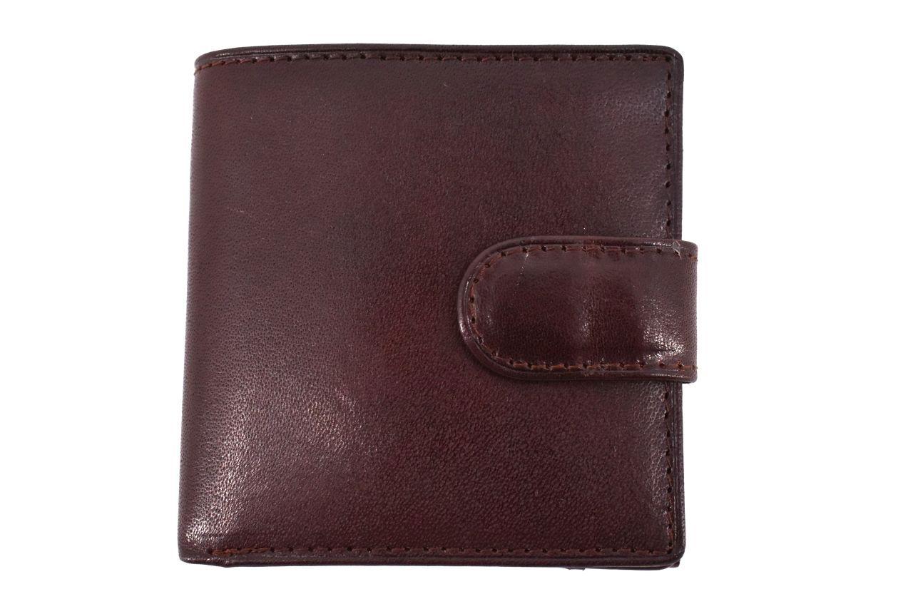 Pánská kožená peněženka Arteddy - tmavě hnědá 11336
