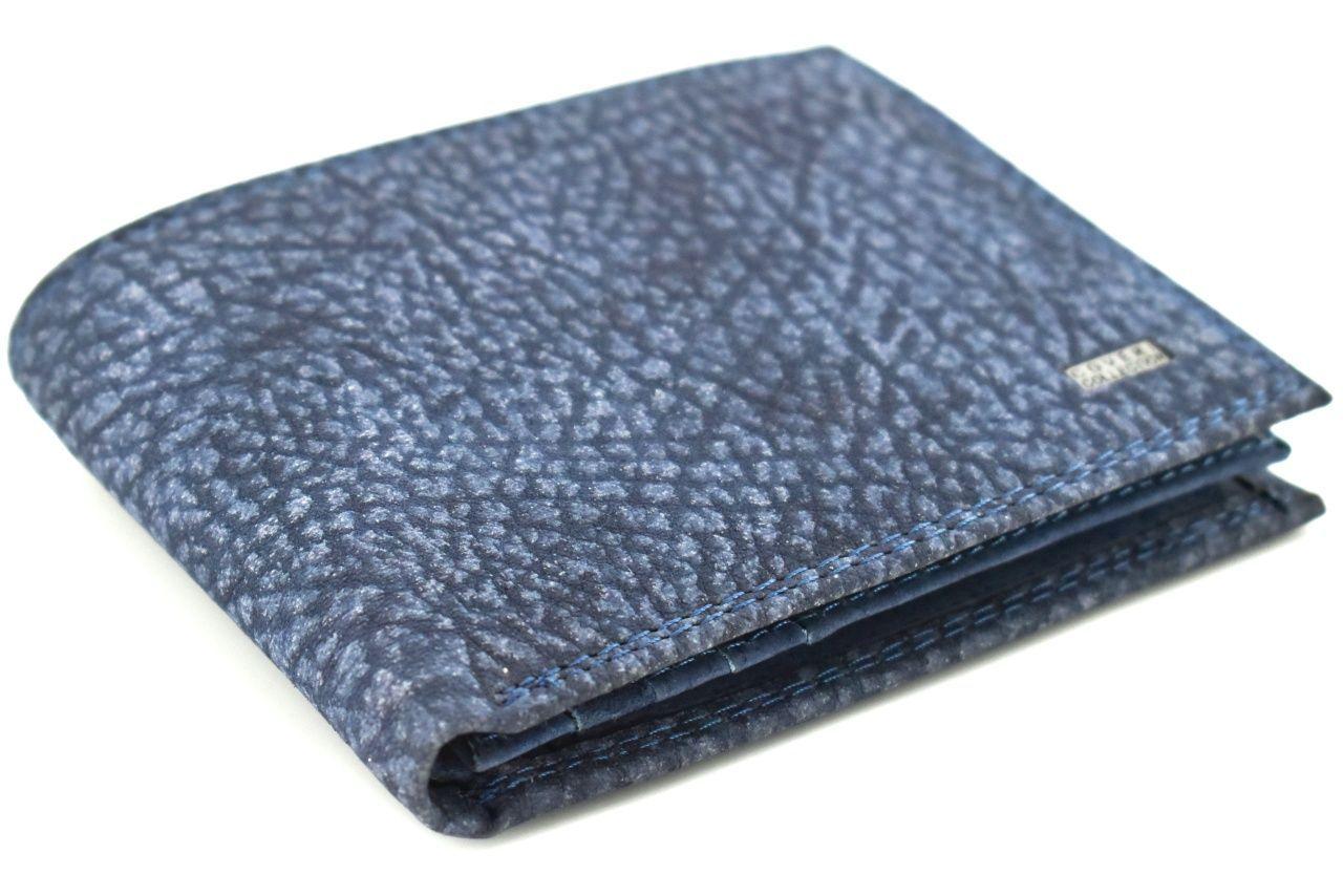 Pánská kožená peněženka Coveri Collection - modrá 32612