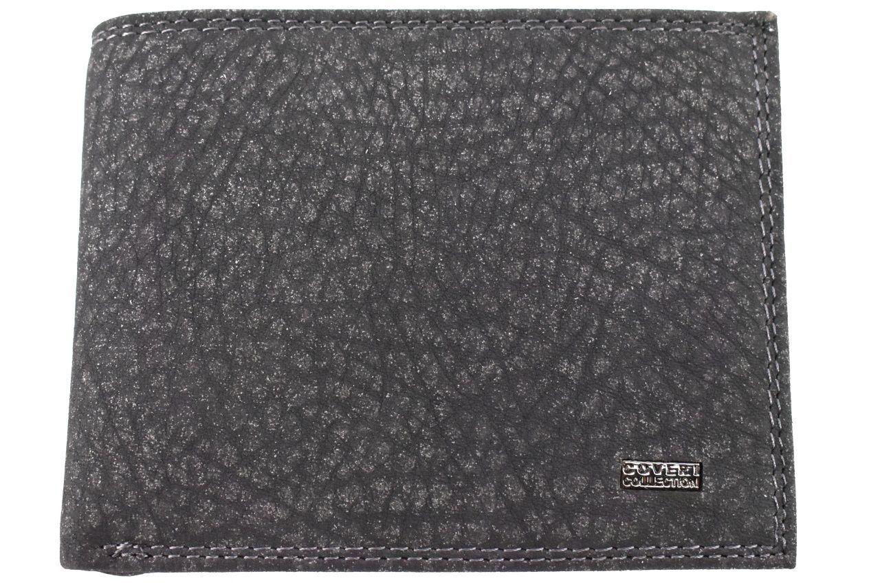 Pánská kožená peněženka Coveri Collection - černá 32612