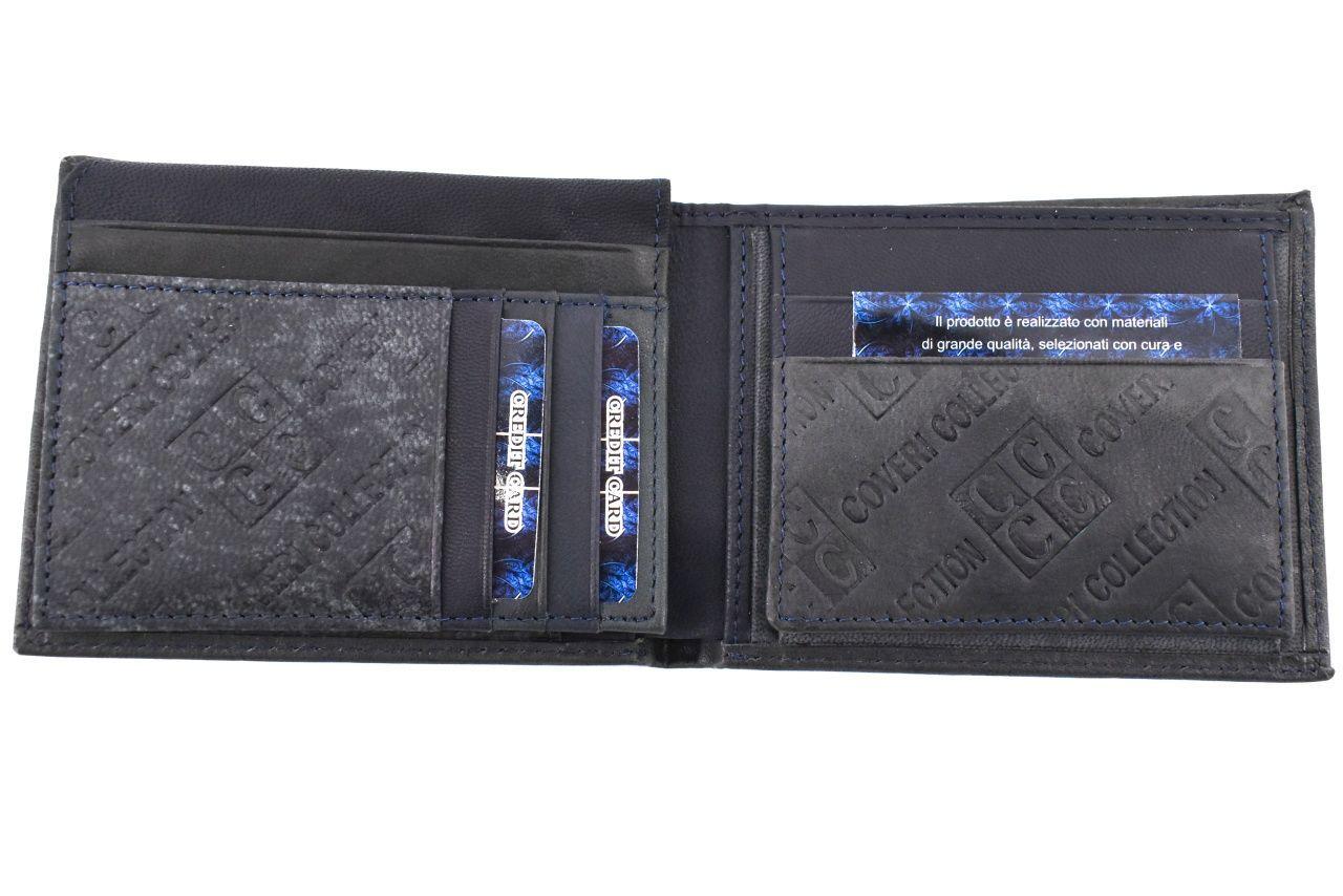 Pánská kožená peněženka Coveri Collection - béžová 31754