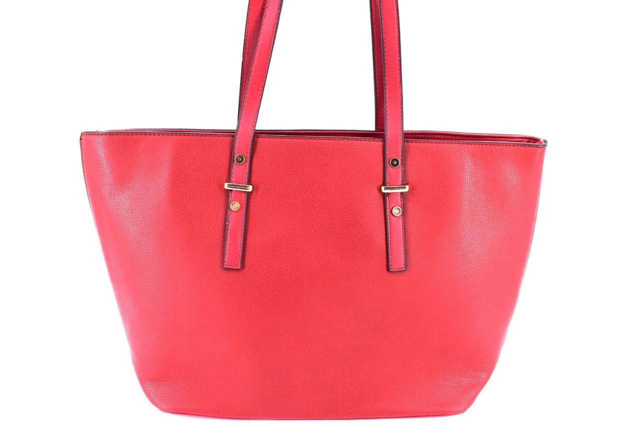 Dámská kabelka červená 35726