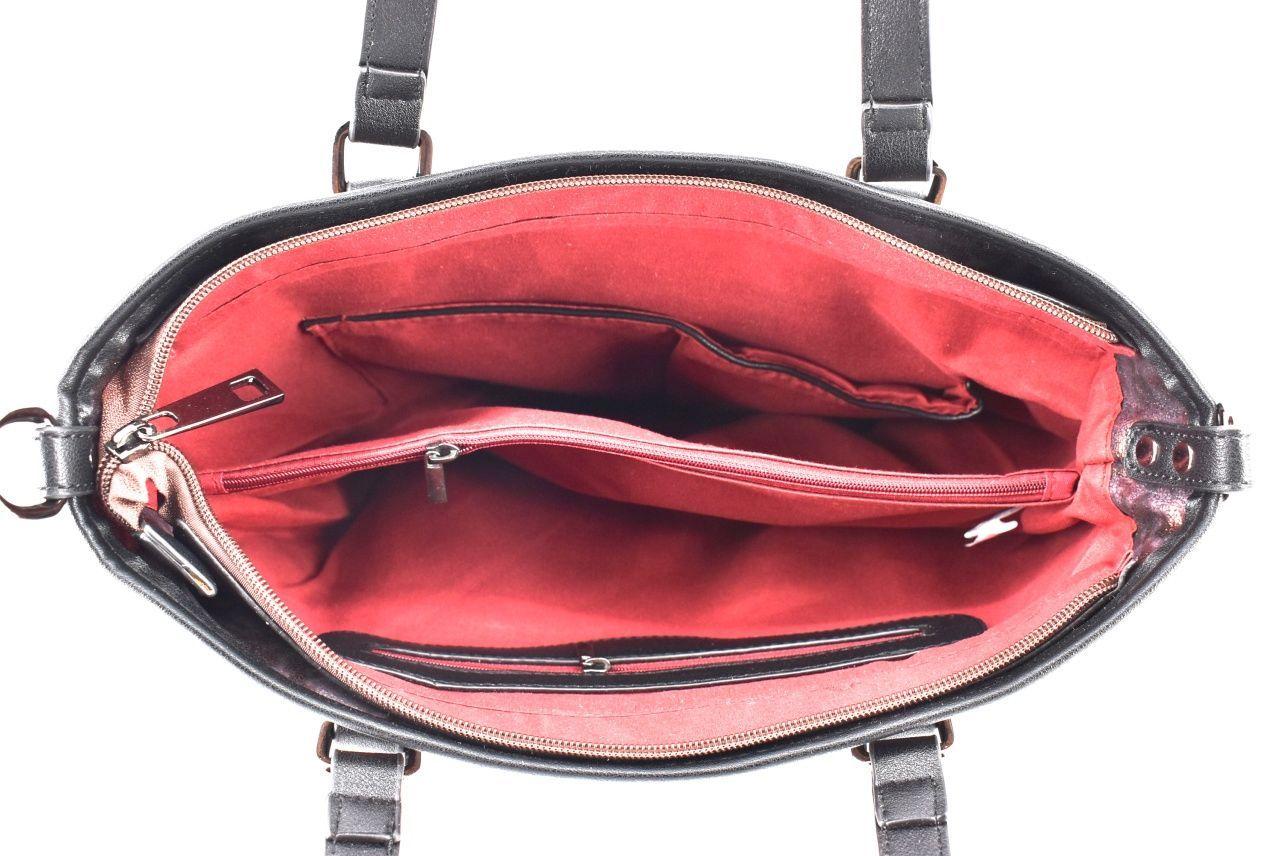 Dámská kabelka bronzová 35731