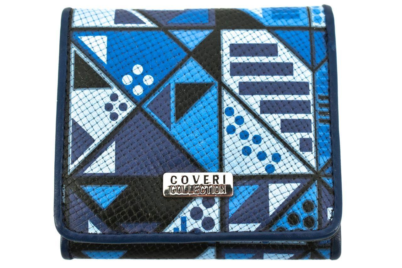 Dámská/dívčí malá peněženka Coveri - modrá 31742