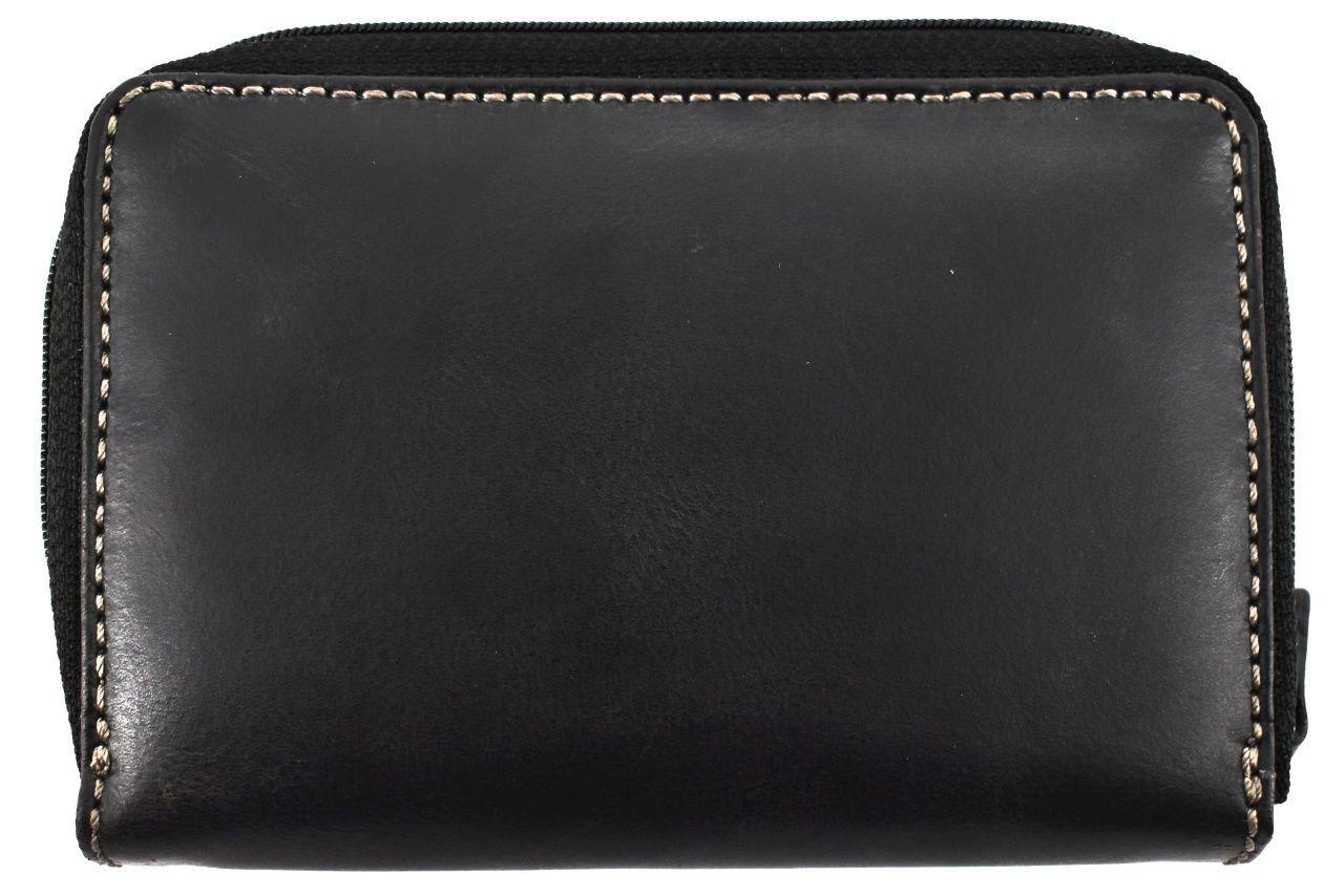 Dámská kožená peněženka pouzdrového typu Harvey Miller - žlutá
