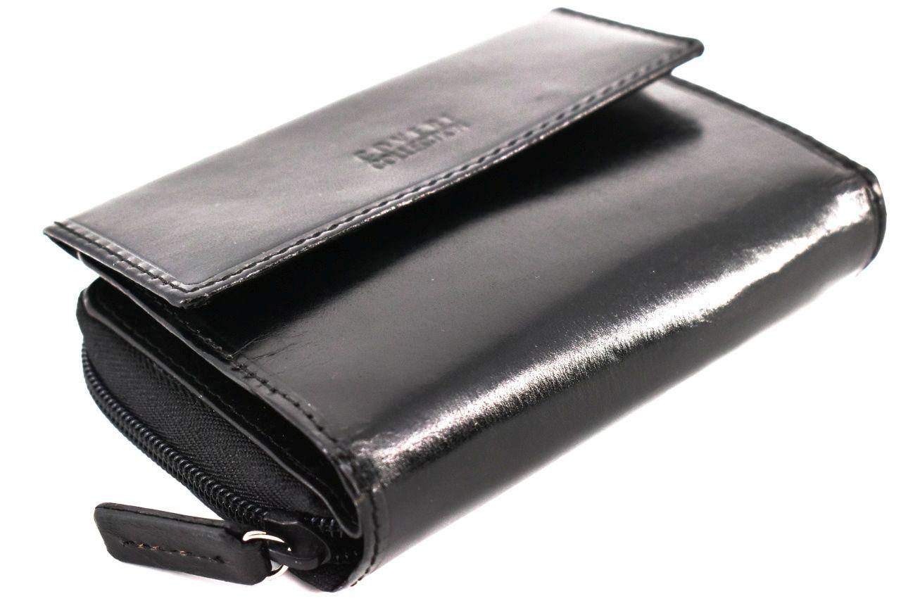 Dámská kožená peněženka Coveri - černá 32152