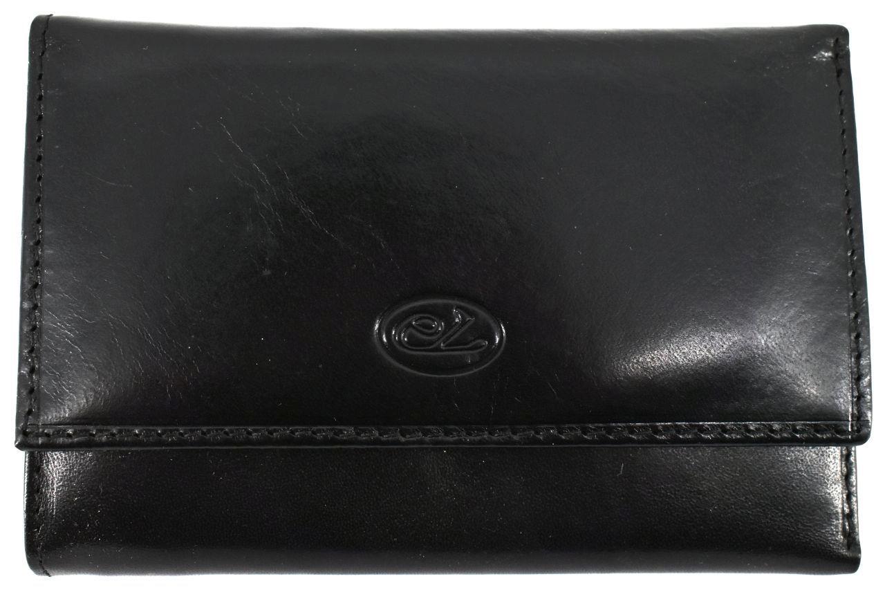 Dámská kožená peněženka Every - černá 25523/2