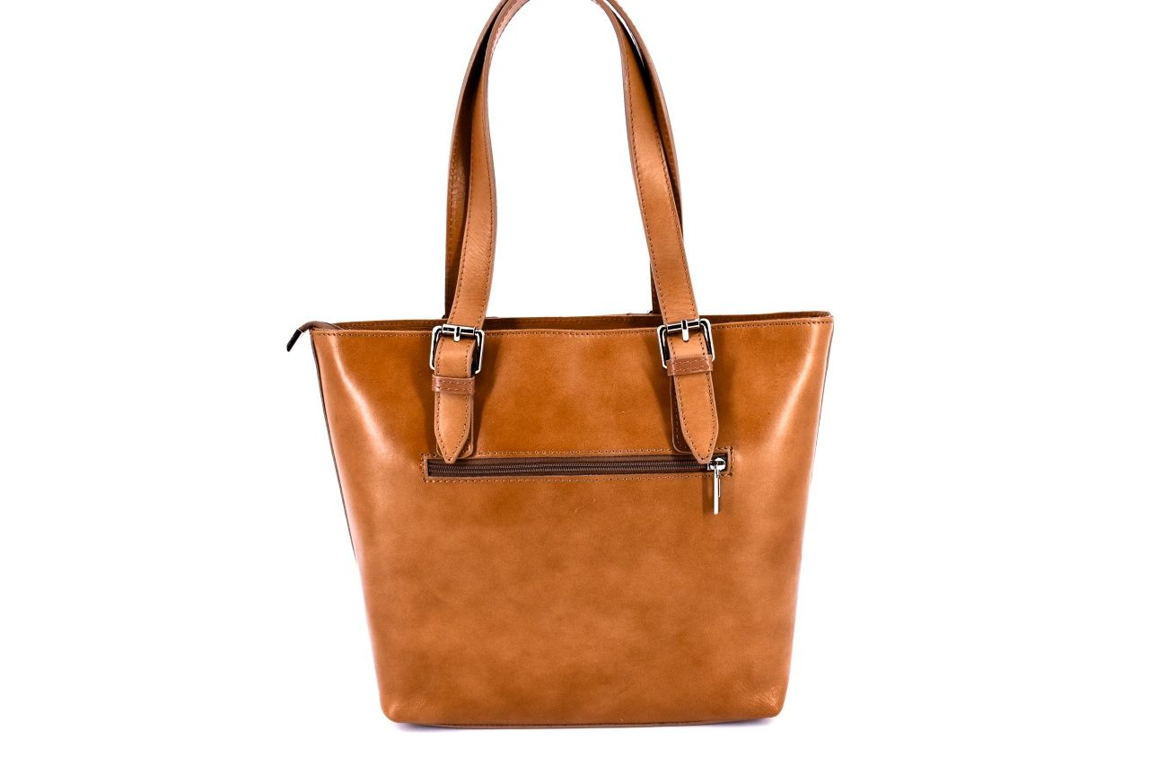 Dámská kožená kabelka Arteddy - modrá 31028