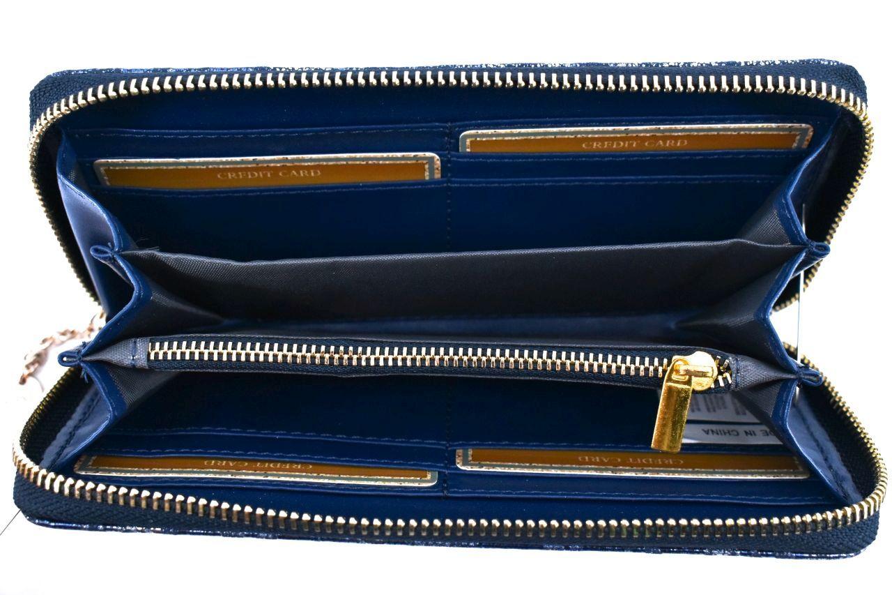 Dámská / dívčí peněženka pouzdrového typu Charro - modrá 33983
