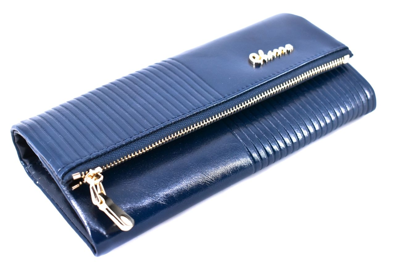 Dámská velká peněženka z ekokůže Charro - hnědá 33982
