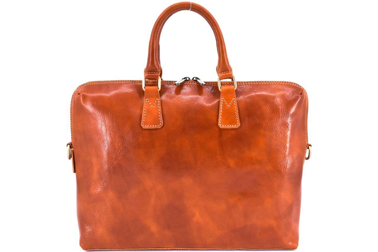 Dámská kožená kabelka Arteddy - koňak 29630
