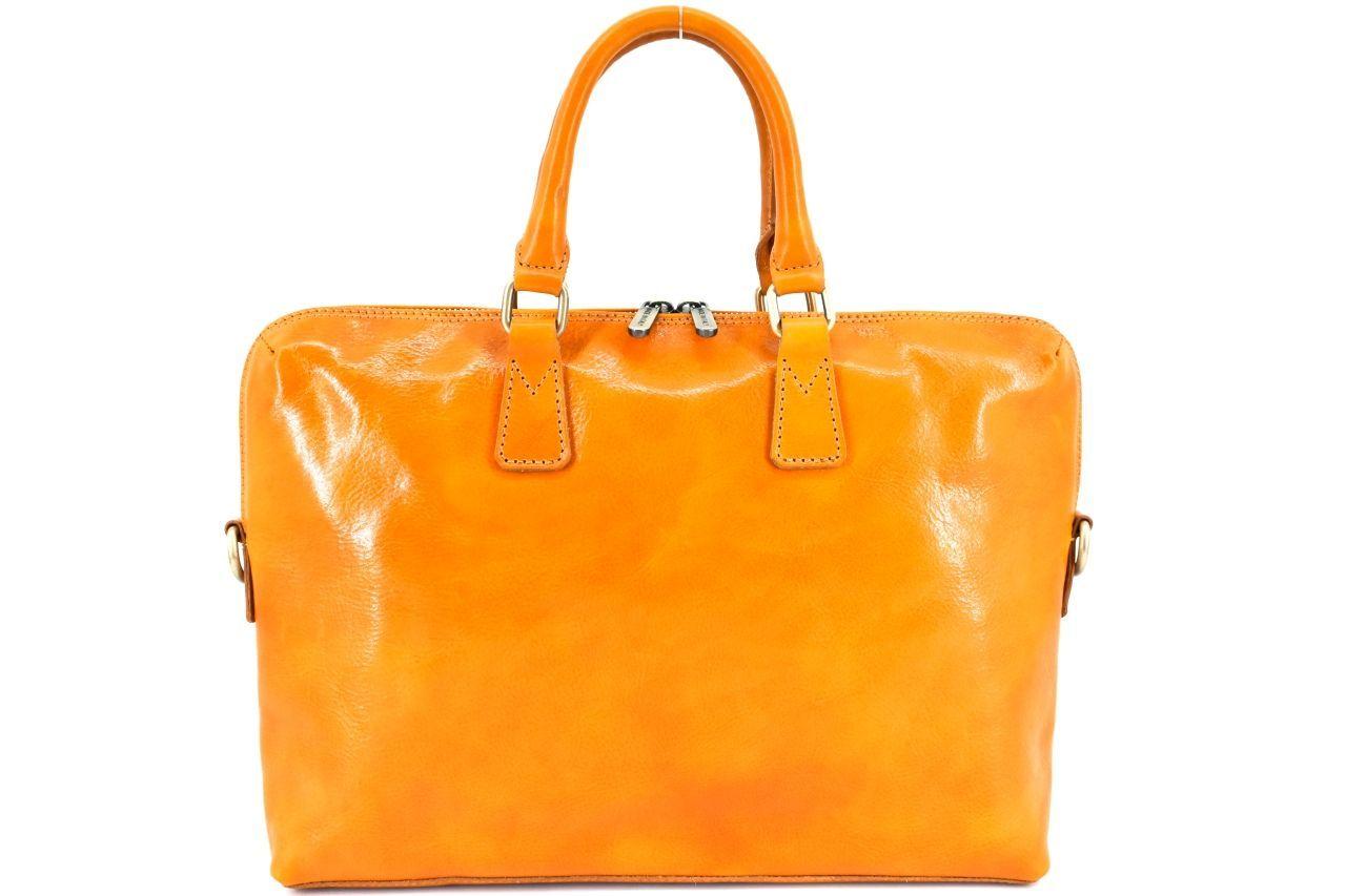 Dámská kožená kabelka Arteddy - camel 29630
