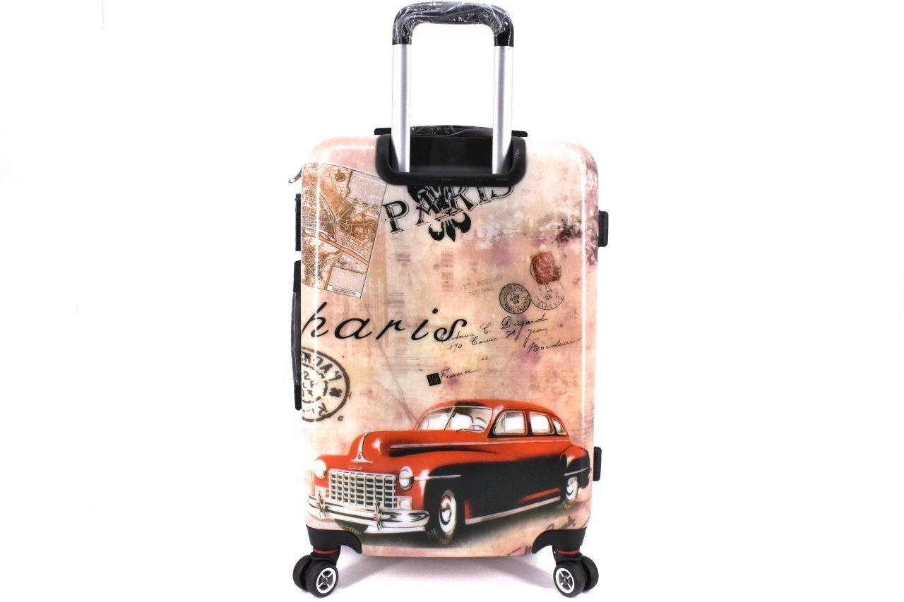 Cestovní skořepina kufr na čtyřech kolečkách Arteddy - Paris (M) 70l 37144 (M)