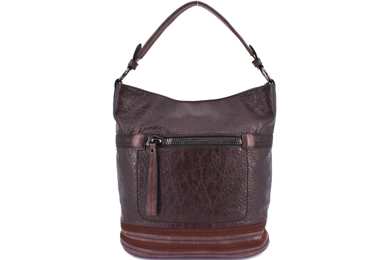 Dámská kabelka Tommasini - tmavě hnědá 38107