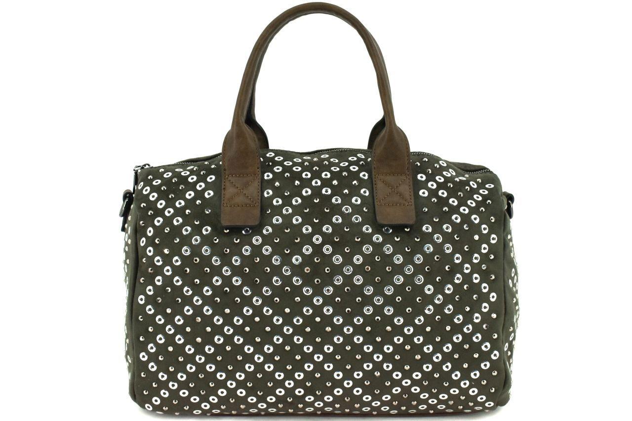 Dámská kabelka Tommasini - tmavě zelená 38125