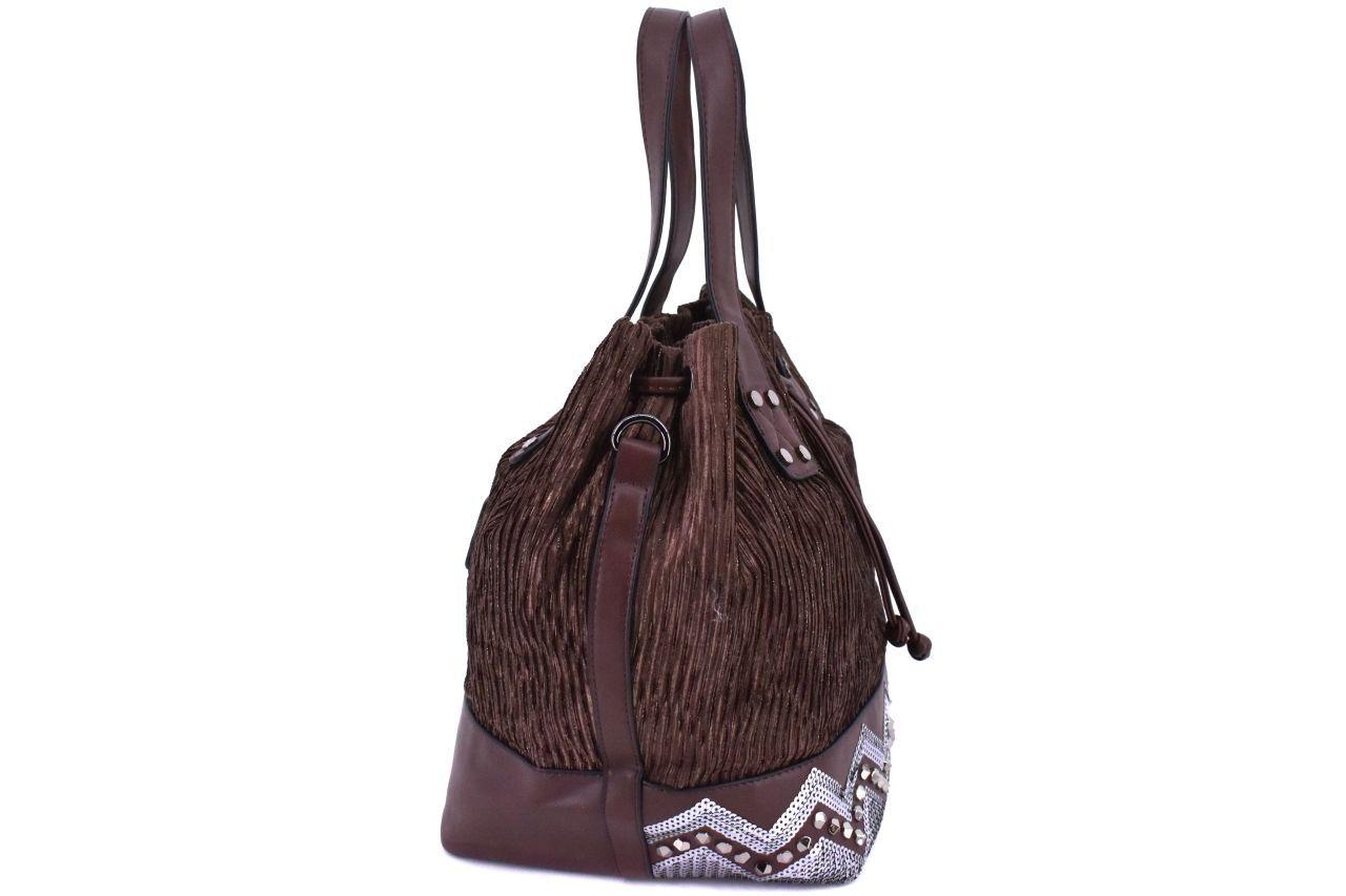 Dámská kabelka Tommasini - šedá/černá 38758