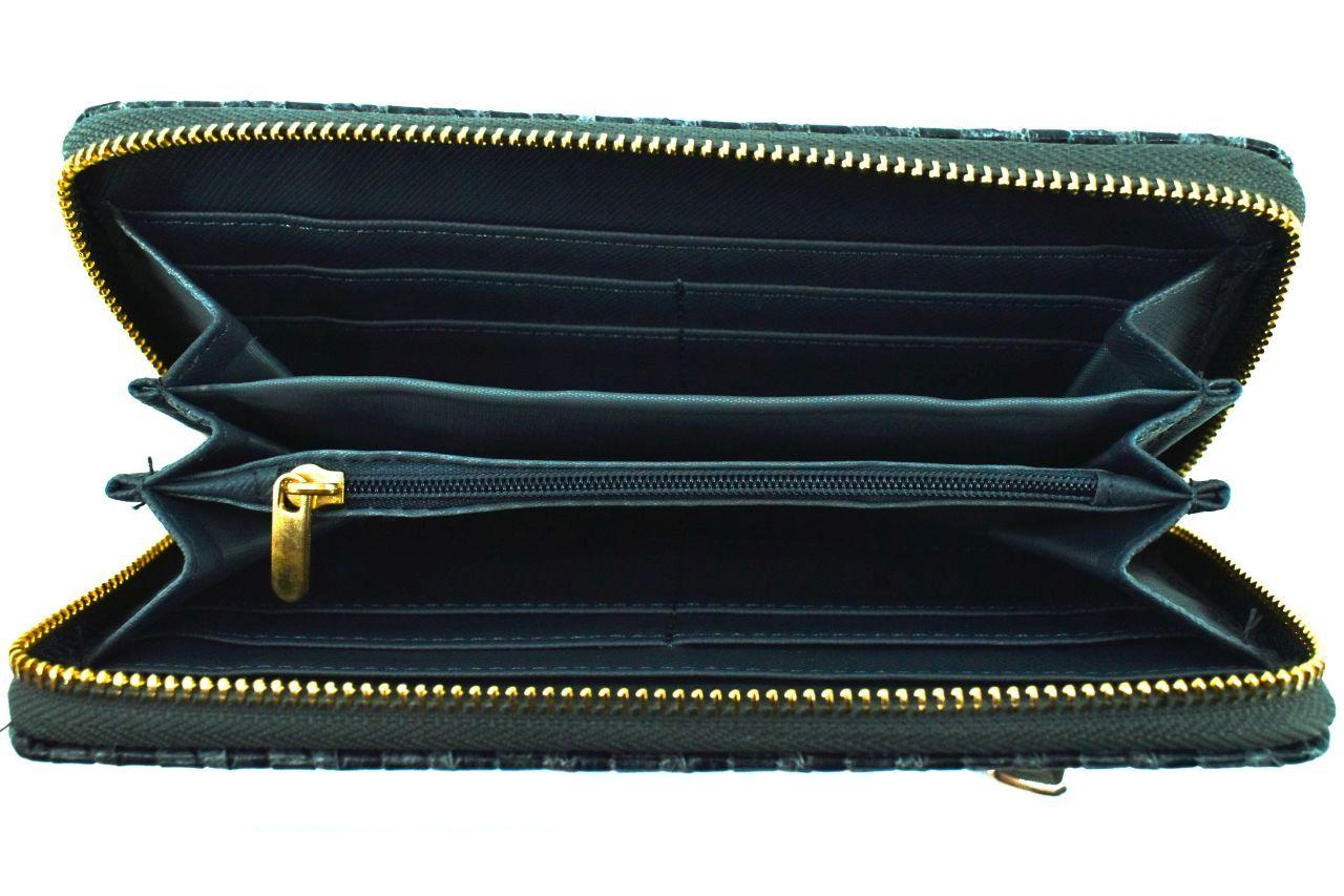Dámská / dívčí peněženka pouzdrového typu - tmavě hnědá 30876