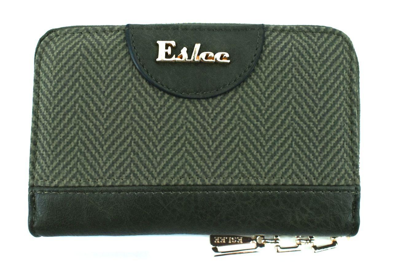 Dámská / dívčí peněženka pouzdrového typu Eslee - zelená 38931