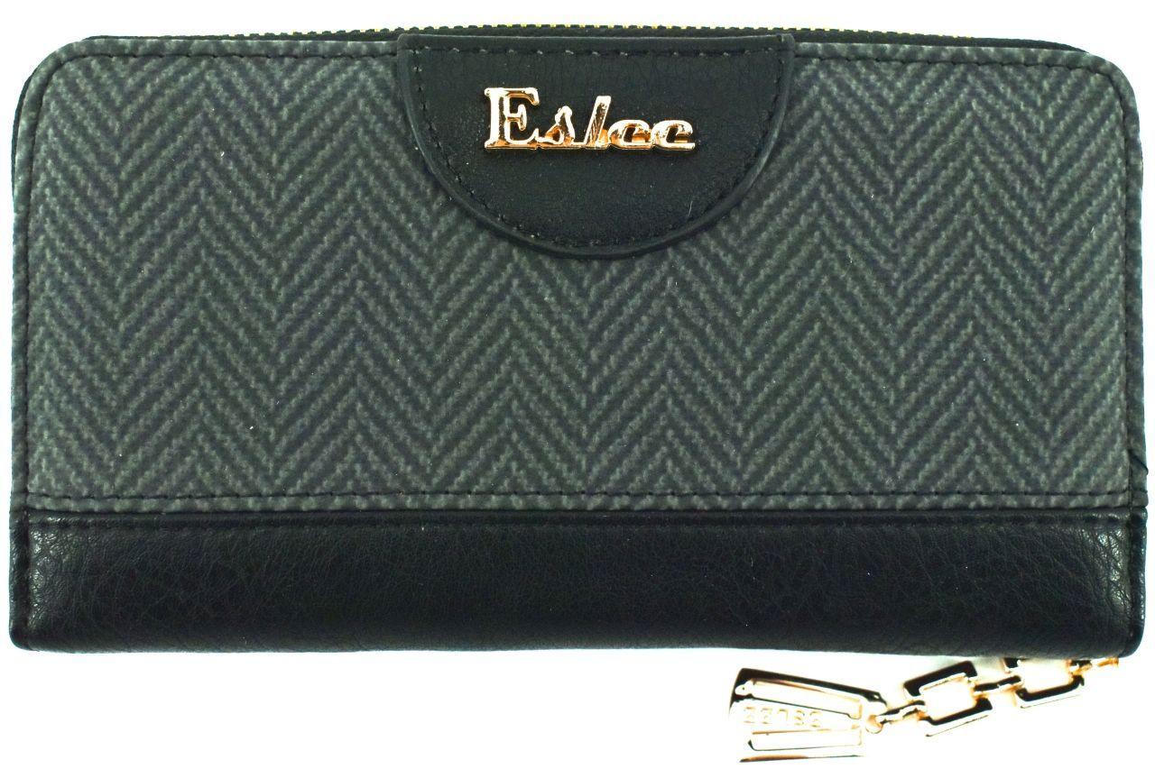 Dámská / dívčí peněženka pouzdrového typu Eslee - černá 38928