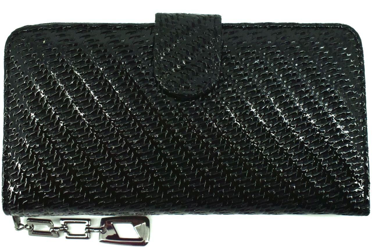 Dámská / dívčí peněženka z ekokůže - černá 38926