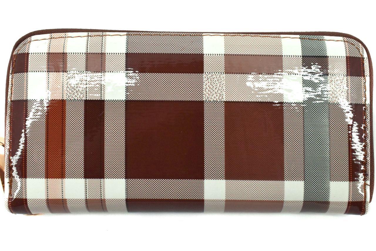 Dámská / dívčí peněženka pouzdrového typu károvaná č.1 30885