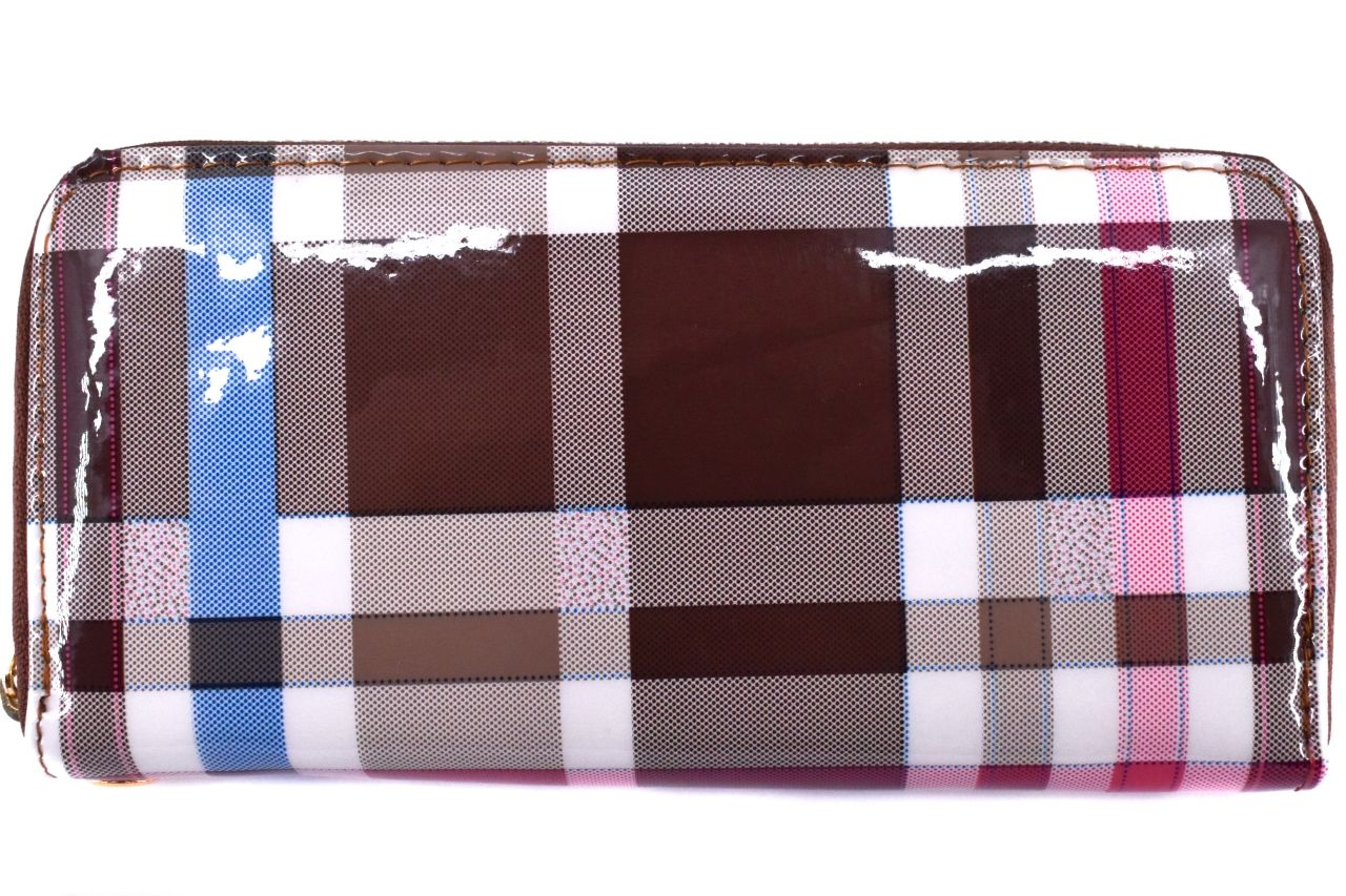 Dámská / dívčí peněženka pouzdrového typu károvaná č.2 30885