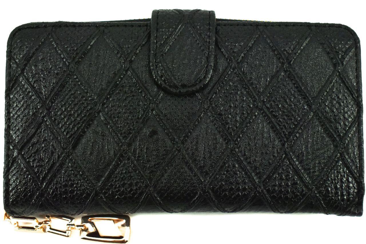 Dámská/dívčí peněženka pouzdrového typu - černá 30875