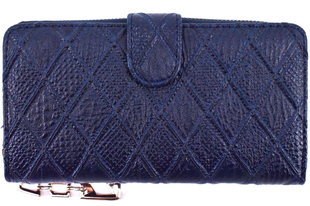 Dámská/dívčí peněženka pouzdrového typu - tmavě modrá 30875