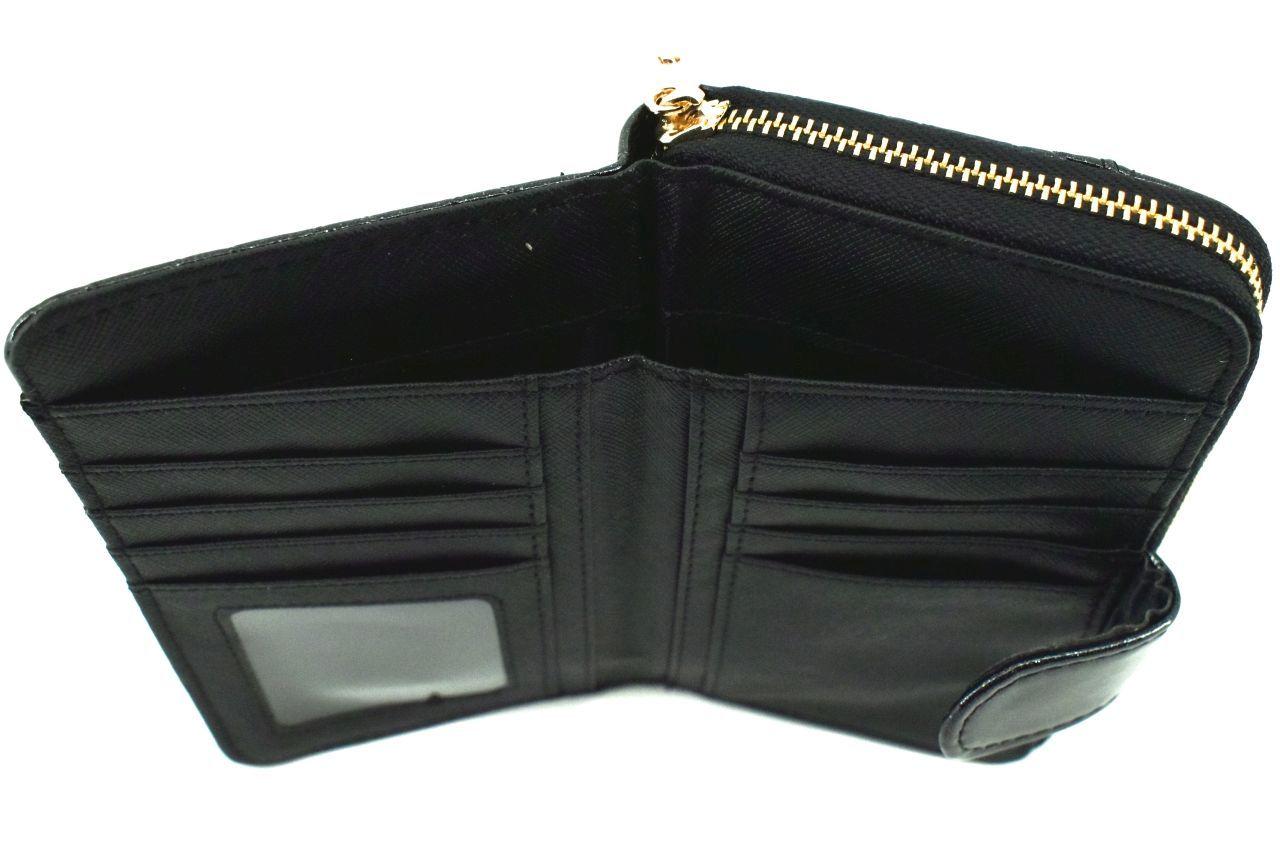 Dámská/dívčí lakovaná peněženka Eslee - tmavě modrá 38932