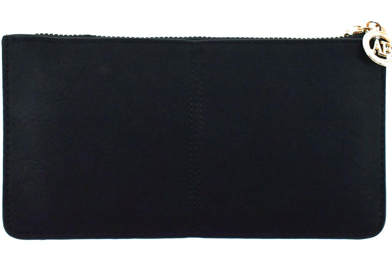 Dámská/dívčí peněženka a kabelka v jednom - černá 32100