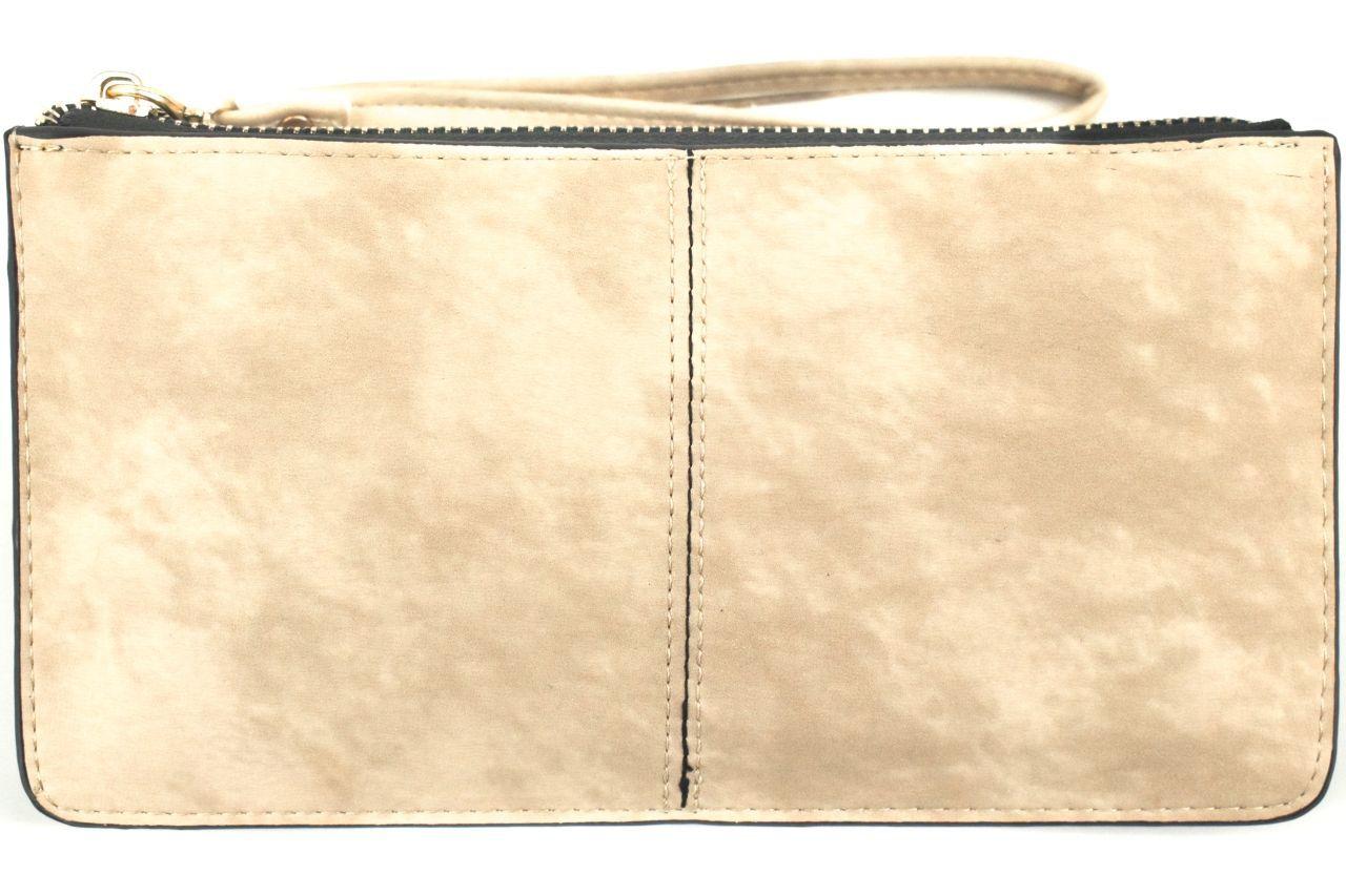Dámská/dívčí peněženka a kabelka v jednom - béžová 32100