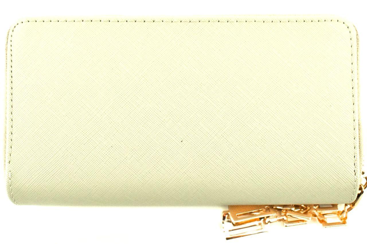Dámská/dívčí velká peněženka pozdrového typu - béžová