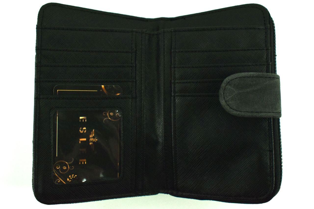 Dámská / dívčí peněženka Eslee - černá 38219