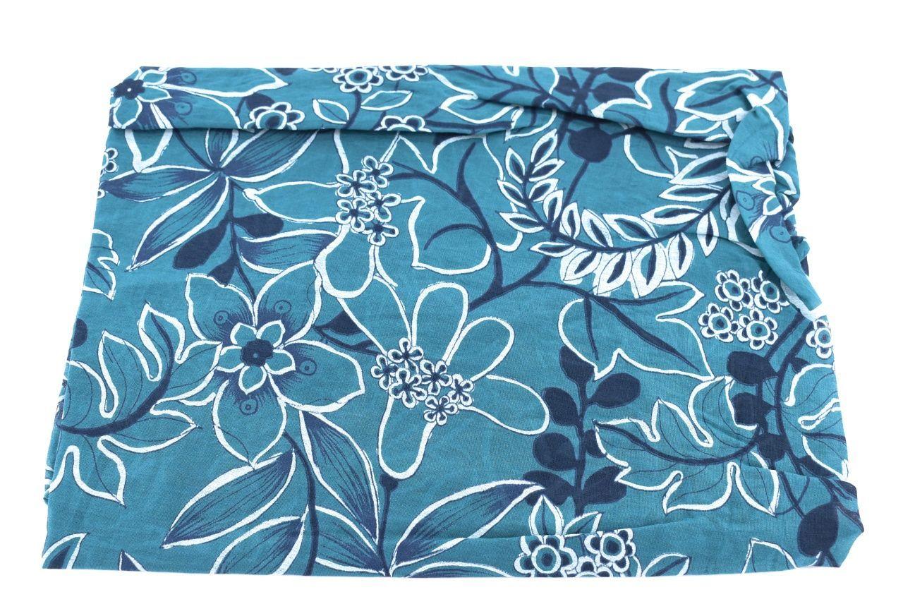 Dámský šátek Made in Italy  - tyrkysová