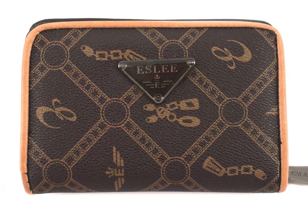 Dámská / dívčí peněženka Eslee - tmavě hnědá 38232