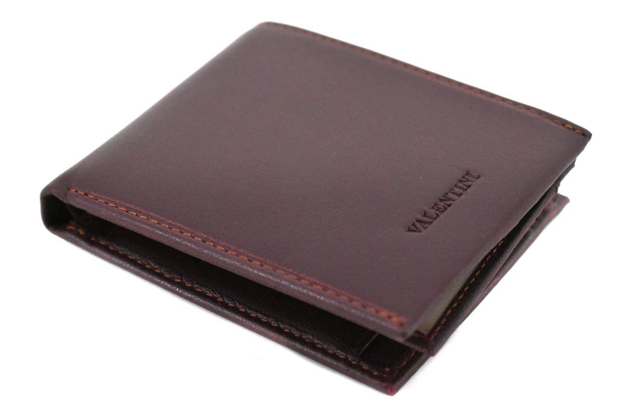 Pánská kožená peněženka na šířku Valentini - tmavě hnědá 38362
