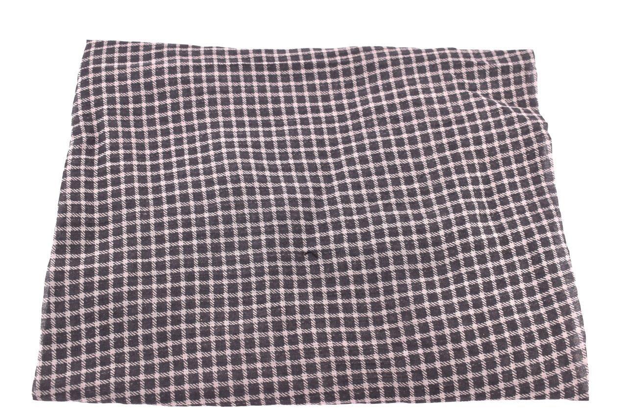 Dámský šátek Made in Italy  -tmavě hnědá
