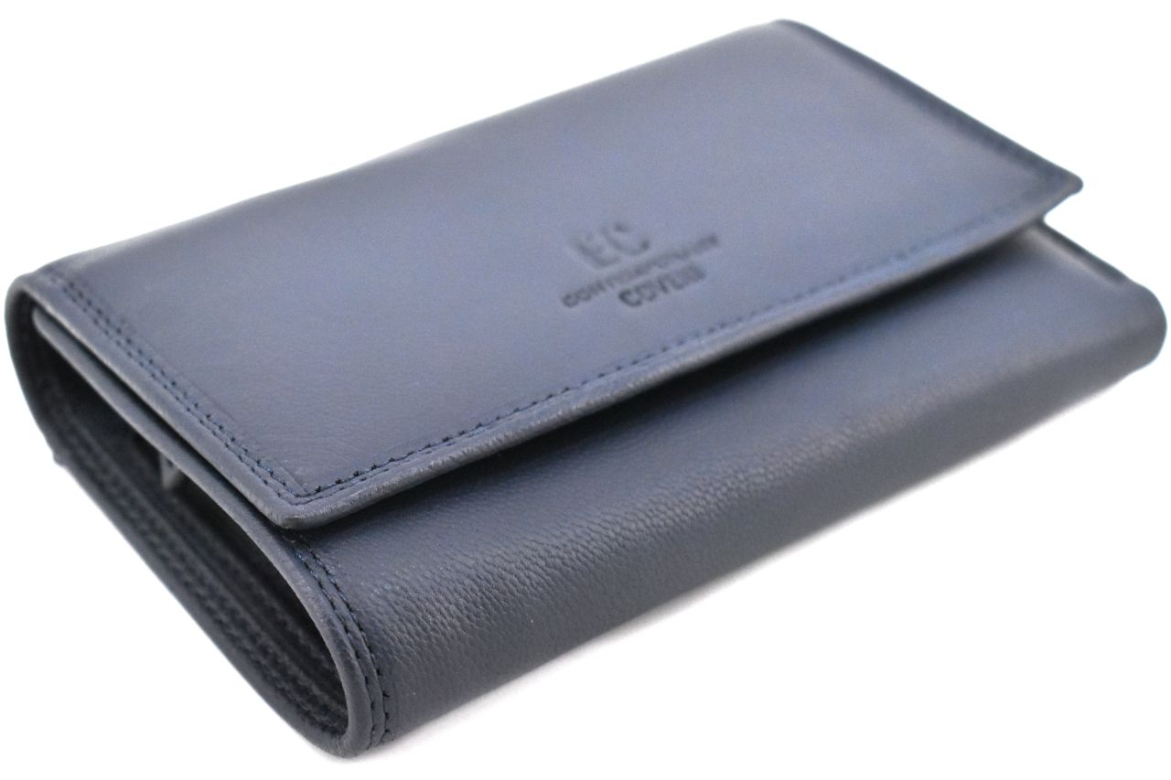Dámská kožená peněženka Coveri - černá 37102