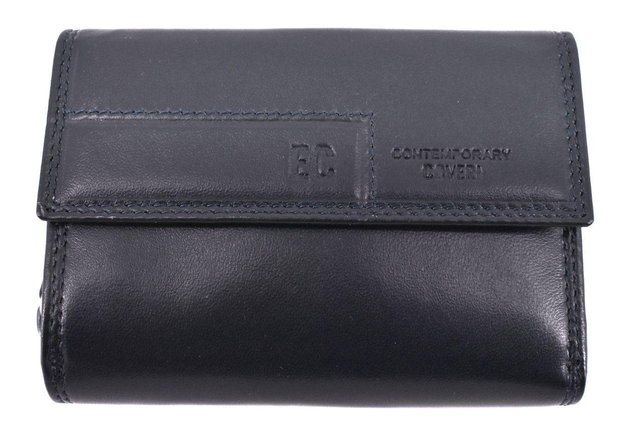 Dámská kožená peněženka Coveri - tmavě modrá 37100