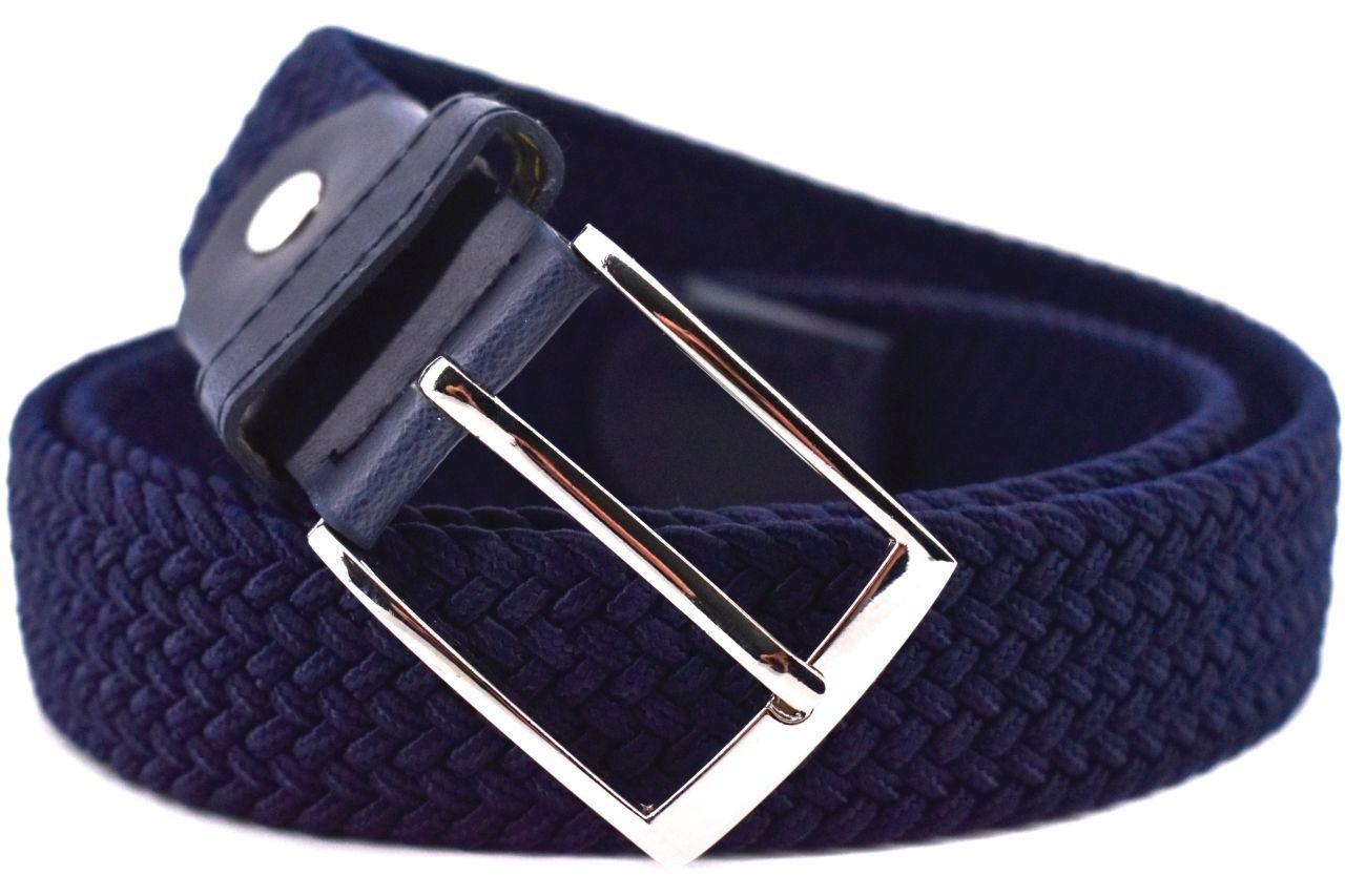 Jednobarevný elastický opasek Arteddy - tmavě modrá/125 38506