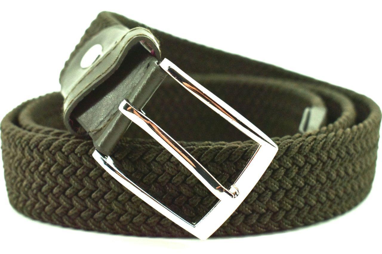Jednobarevný elastický opasek Arteddy - tmavě zelená/115 38506