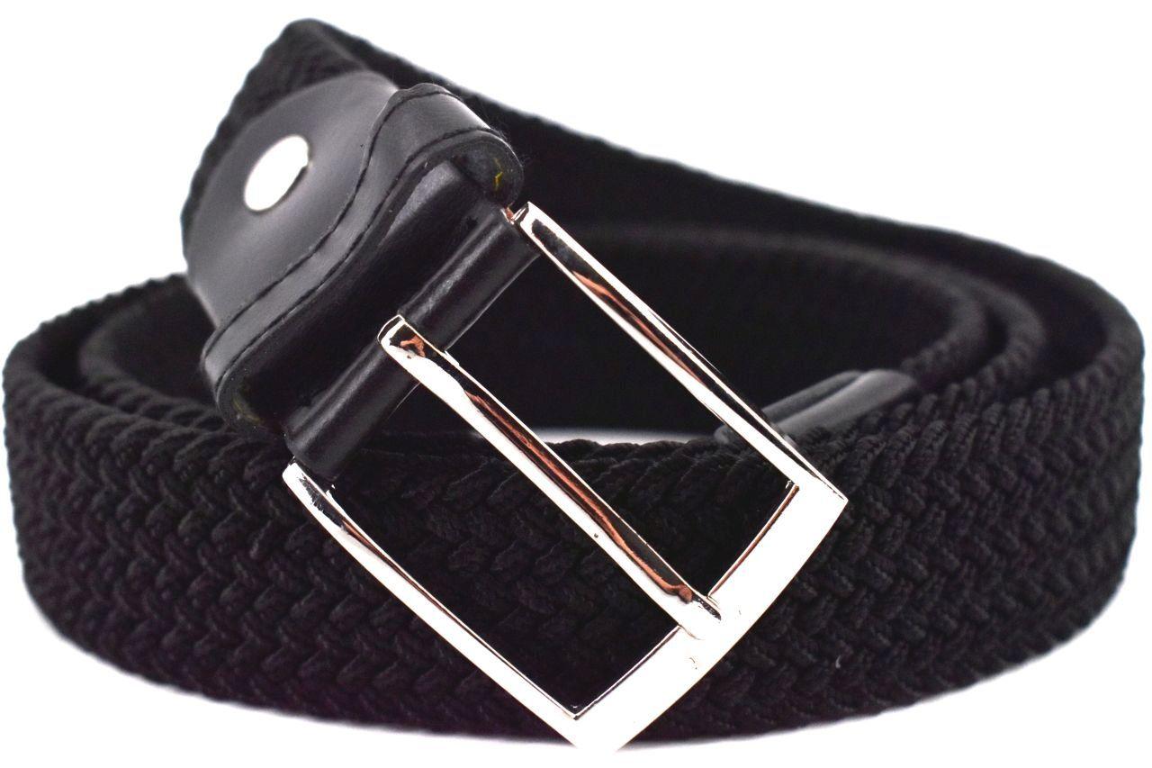 Jednobarevný elastický opasek Arteddy - černá/115 38506