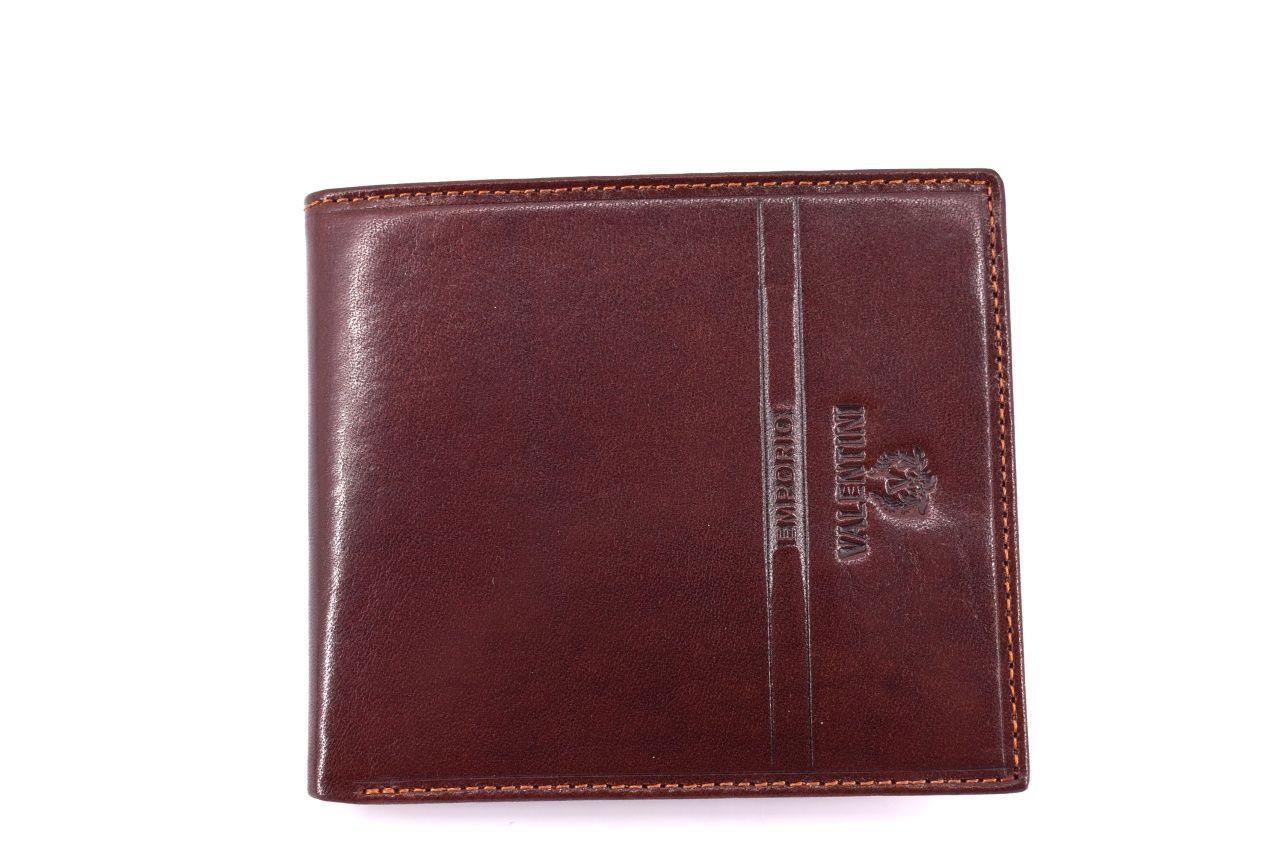 Pánská kožená peněženka Emporio Valentini - hnědá 31779