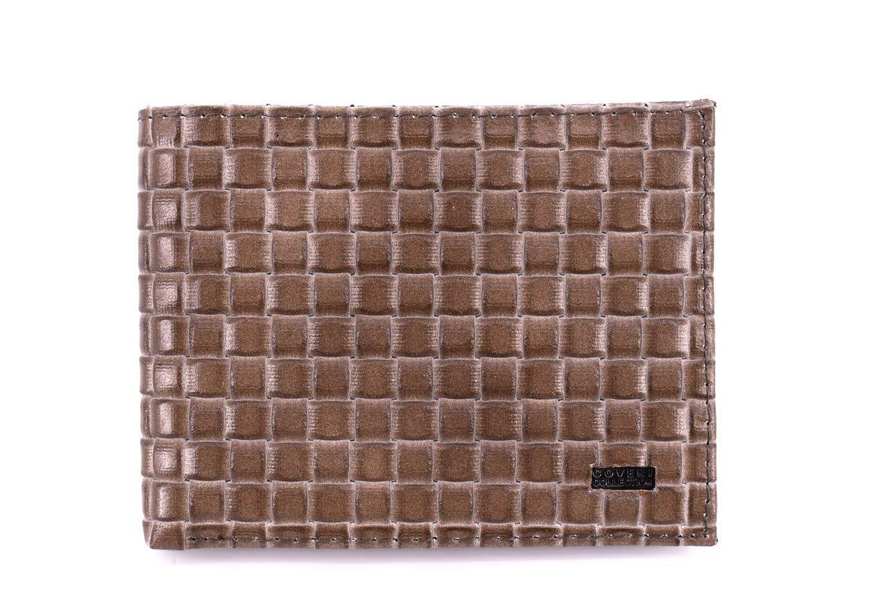 Pánská kožená peněženka Coveri Collection - taupe 31741