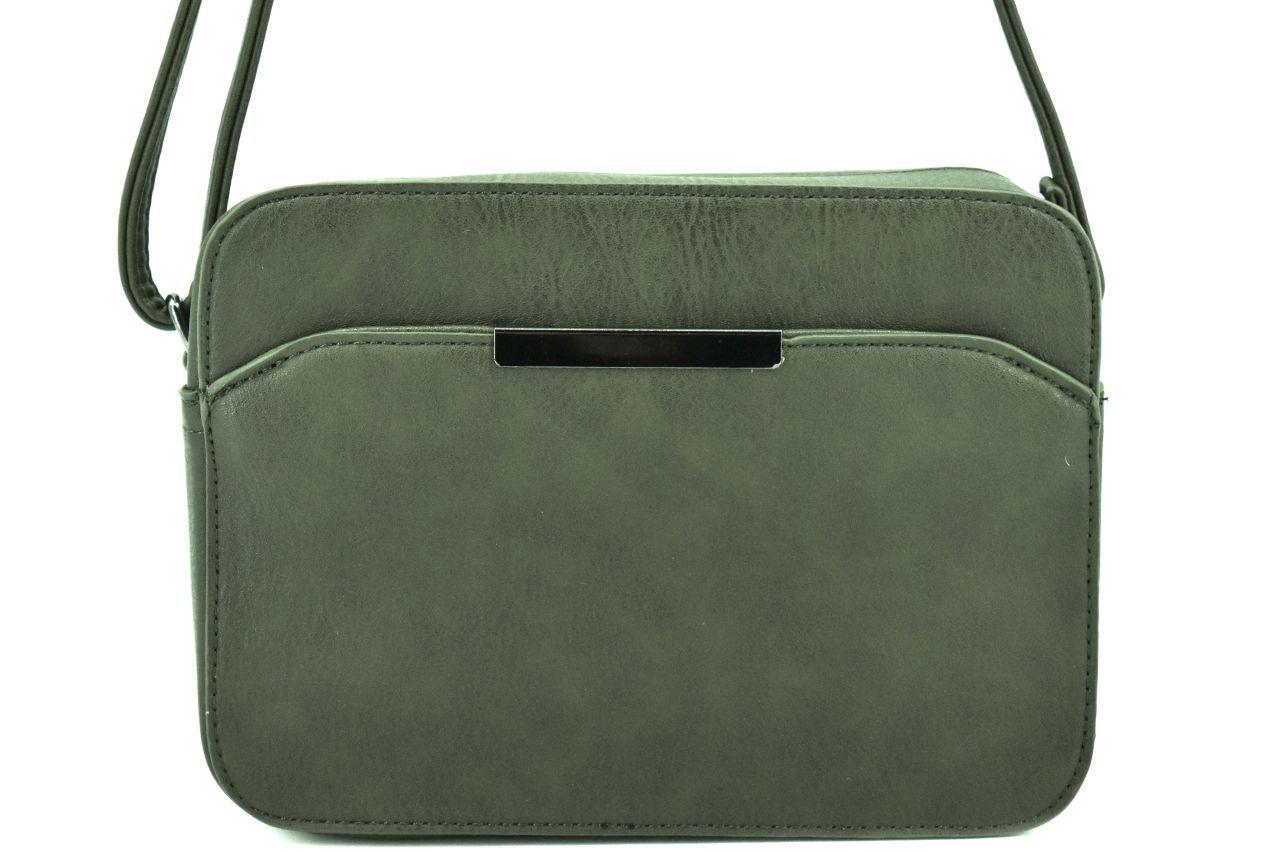 Dámská kabelka crossbody Herisson - tmavě zelená 38741