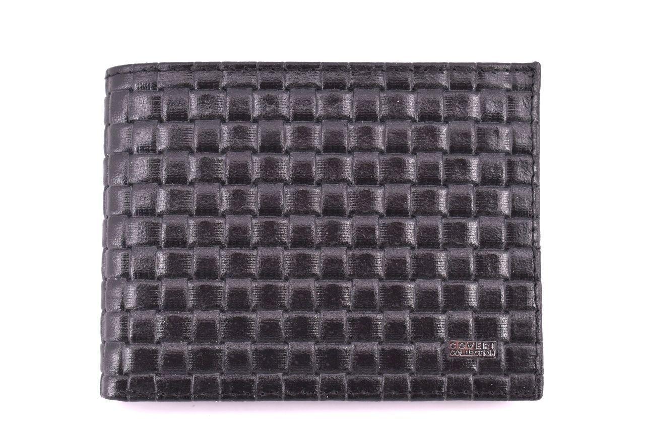 Pánská kožená peněženka Coveri Collection - černá 31741