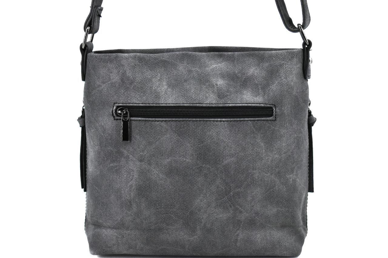 Dámská/dívčí kabelka crossbody Melas - tmavě šedá 38140