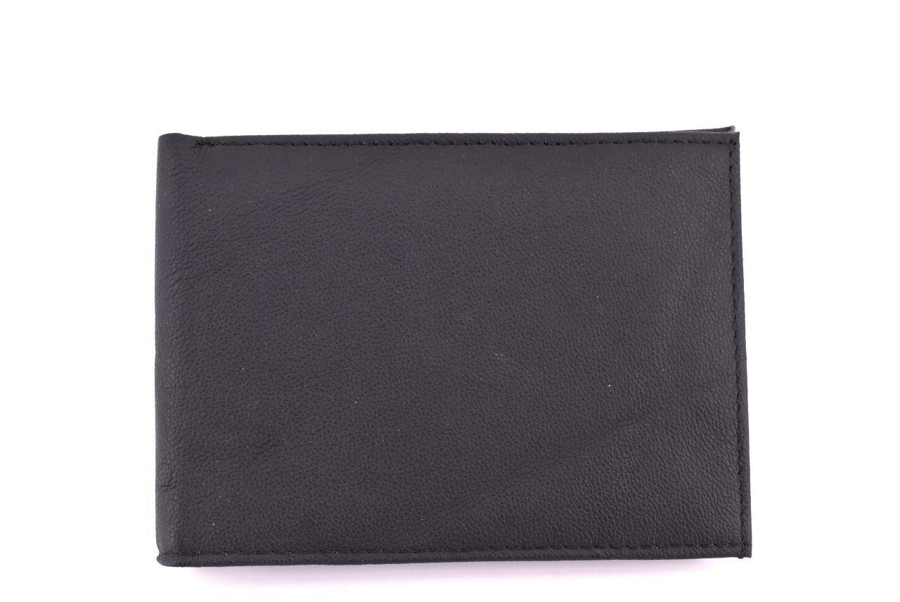 Pánská kožená peněženka Arteddy - černá 31525