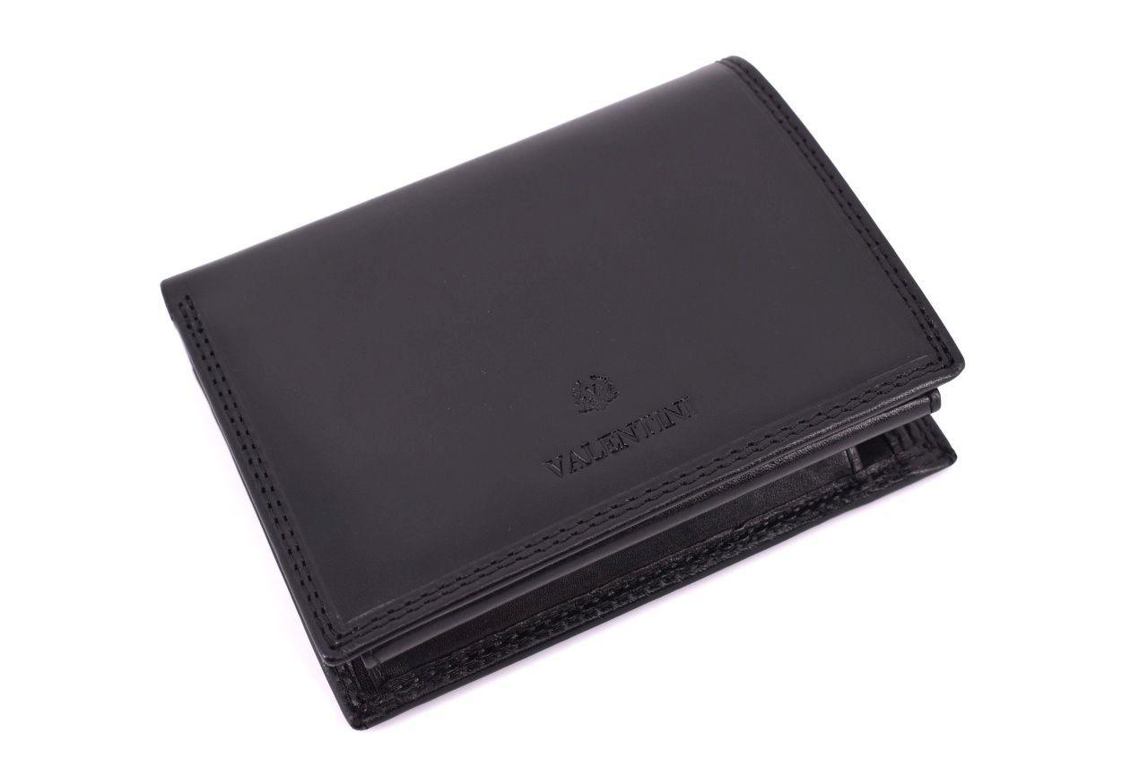 Pánská kožená peněženka Valentini - černá 31773