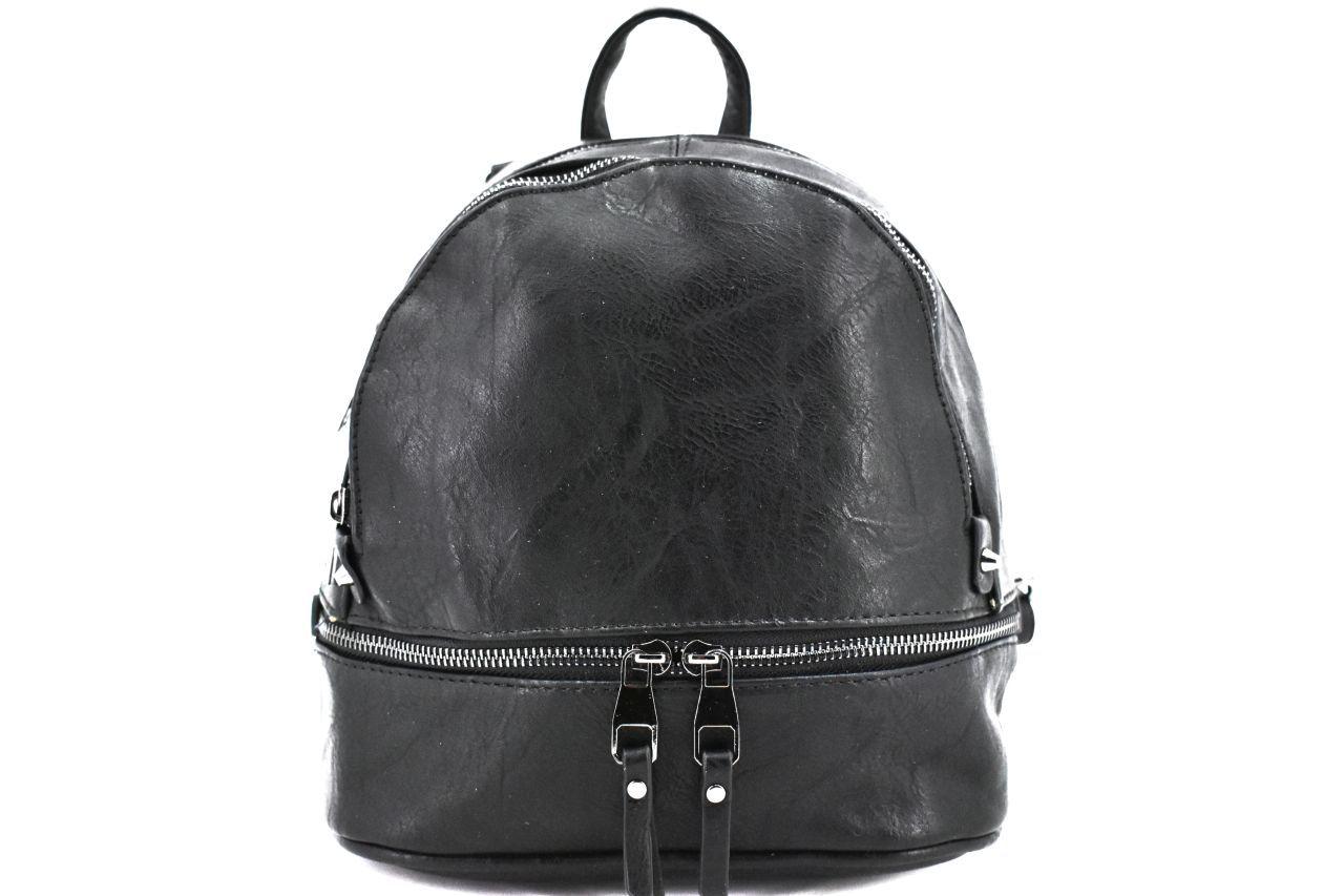 Dámský/dívčí batoh a kabelka v jednom Valentina - černá 38089