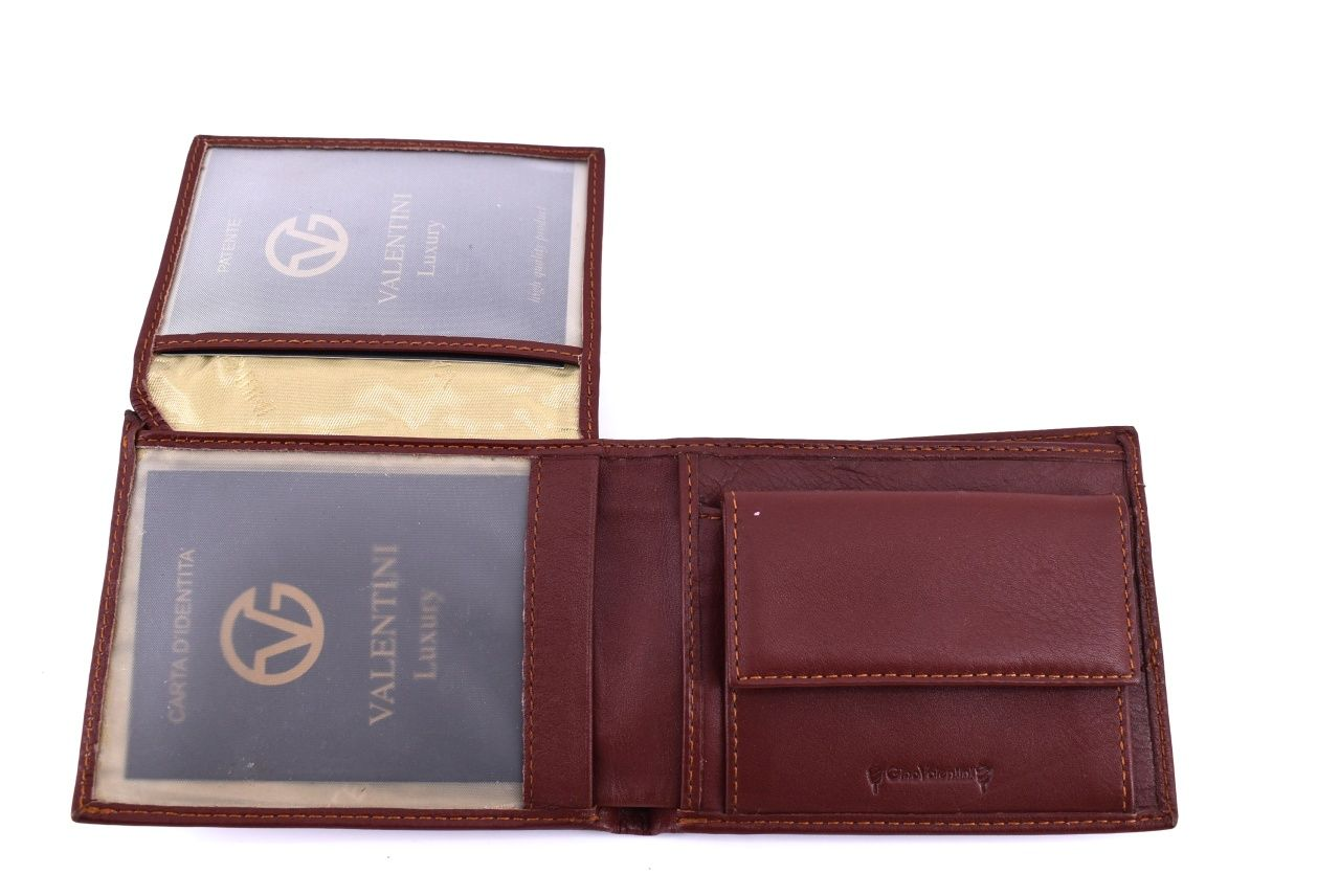 Pánská kožená peněženka Valentini - černá 31766